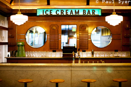 Dining Room at The Ice Cream Bar, San Francisco, CA