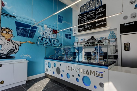 Ice-Cream Lab has opened a second location in Pasadena