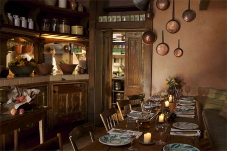 Dining Room at Il Buco, New York, NY