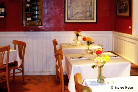Dining Room at Indigo Moon, Cambria, CA