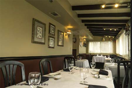 Dining Room at The Irish Inn at Glen Echo, Glen Echo, MD