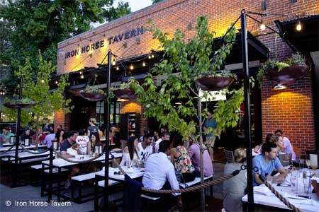 Iron Horse Tavern is one of GAYOT's Best Outdoor Dining Restaurants in Sacramento