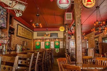 Iron Horse Tavern in Norcross, GA, is one of the best places to celebrate St. Patrick's Day in Atlanta Outside the Perimeter