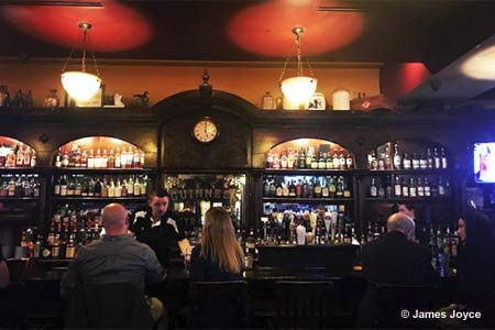Dining Room at James Joyce Irish Pub & Restaurant, Baltimore, MD