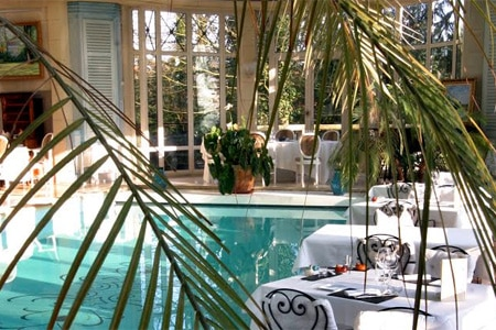 Les Jardins d'Epicure is one of GAYOT's Top 10 Romantic Restaurants in France
