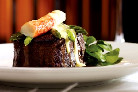 Expensive steak-and-seafood emporium delivers value with giant portions and top quality.