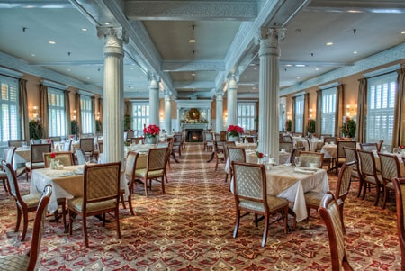 Dining Room at Jekyll Island Club Hotel Grand Dining Room, Jekyll Island, GA