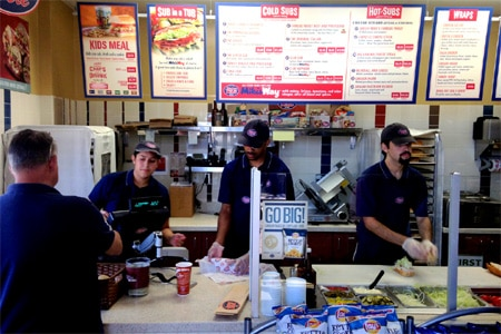 Jersey Mike's Subs, Marina del Rey, CA