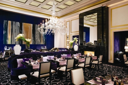 Dining Room at Joël Robuchon Restaurant, Las Vegas, NV