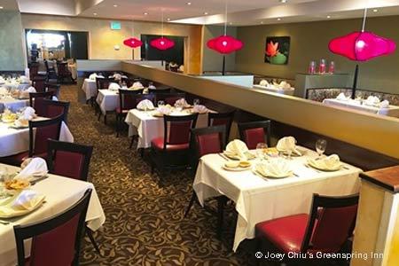 Joey Chiu's Greenspring Inn, Lutherville, MD