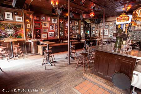 John D. McGurk's Irish Pub is one of the best places to celebrate St. Patrick's Day in St. Louis