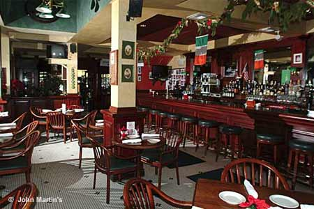 John Martin's is one of the best places to celebrate St. Patrick's Day in Miami