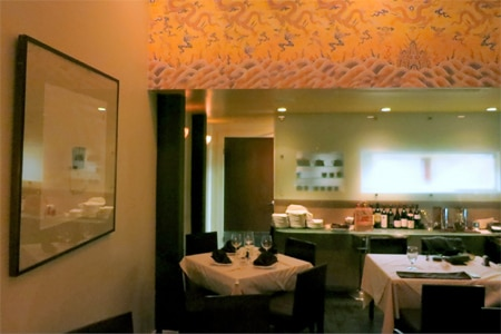 Dining room at Joss Cuisine/Traditional, Beverly Hills, CA