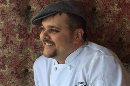 Executive chef JT Walker oversees the menu at Pacific Hideaway