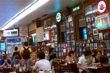 Dining room at Katz's Deli, New York, NY