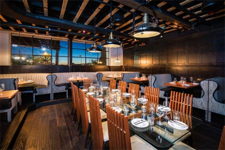 Celebrate Valentine's Day with the special menu at Kettner Exchange in San Diego