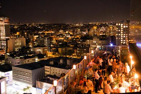 Kimoto Rooftop Beer Garden, Brooklyn, NY