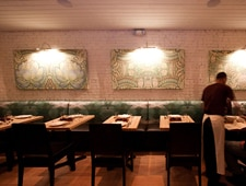Dining room at Kin Shop, New York, NY