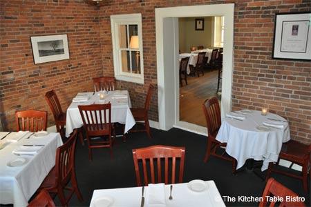 The Kitchen Table Bistro, Richmond, VT