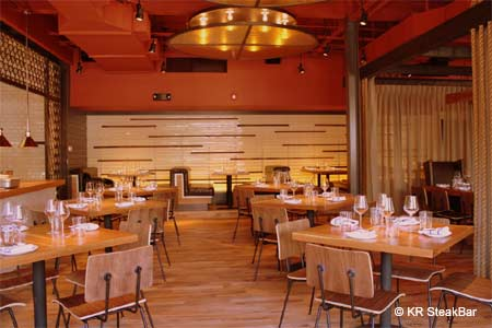Dining Room at KR SteakBar, Atlanta, GA