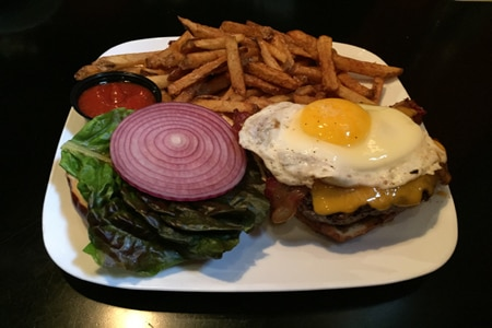 Super-creative burgers named after heavy-metal bands are the draw at Kuma's Corner in Chicago