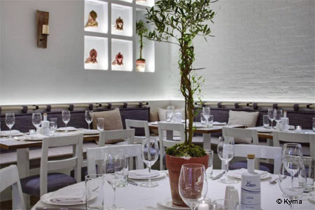 Kyma restaurant in New York