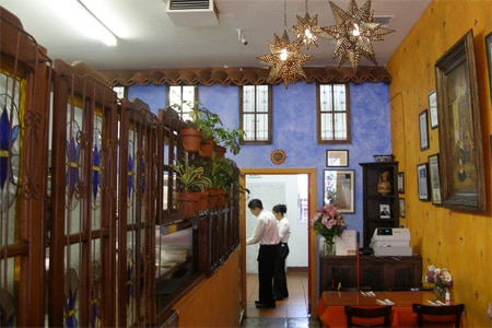 Dining Room at La Casita Mexicana, Bell, CA