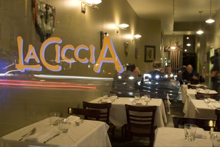 Dining Room at La Ciccia, San Francisco, CA