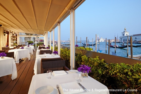 Restaurant La Cusina, Venice, italy