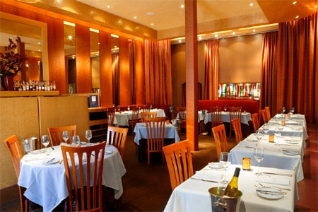Dining room at La Folie, San Francisco, CA