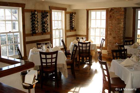 La Masseria is one of the most romantic restaurants in Providence, RI