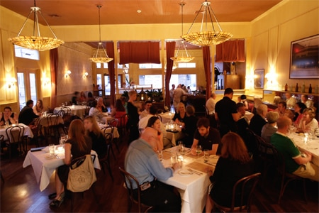 Dining room at La Petite Grocery, New Orleans, LA
