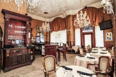 La Traviata Restaurant, Long Beach, CA