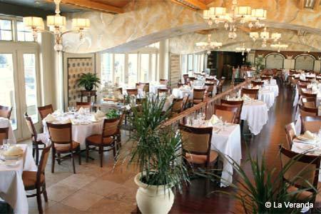 Dining Room at La Veranda, Philadelphia, PA