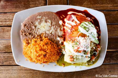 La Vida Cantina offers satisfying Mexican food in Costa Mesa