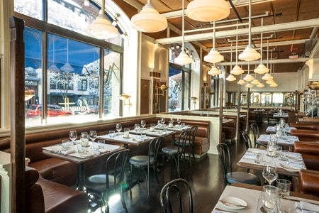 Celebrate Bastille Day on July 14th at Lafayette, one of GAYOT's Best Bastille Day Restaurants in New York