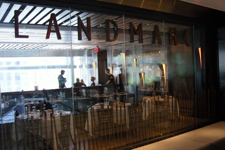 Landmarc (at the Time Warner Center), New York, NY