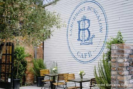 Larchmont Bungalow Café, Los Angeles, CA
