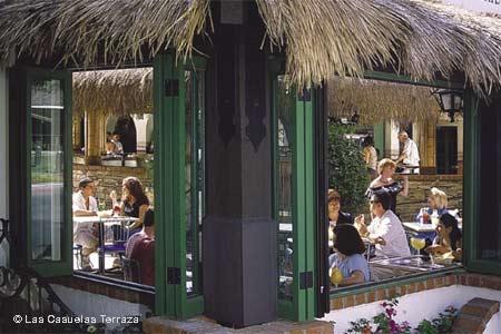 Dining Room at Las Casuelas Terraza, Palm Springs, CA