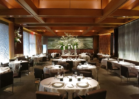 Le Bernardin's attention to detail, stability and quest for perfection make it one of GAYOT's Top 40 Restaurants in the US