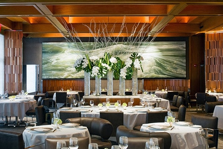 Dining room at Le Bernardin, New York, NY