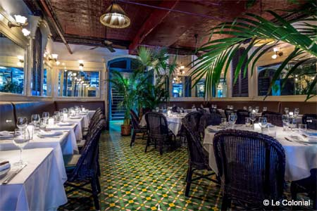 Enjoy some of the best Vietnamese food in New York at Le Colonial restaurant