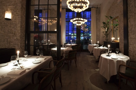 Dining Room at Le Coucou, New York, NY