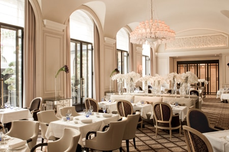 Le George has opened its doors in the Four Seasons Hôtel George V Paris