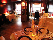 Dining room at THIS RESTAURANT HAS CHANGED LOCATIONS Le Yaca, Williamsburg, VA