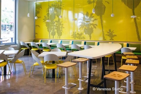 The interior of the Hillcrest location of Lemonade