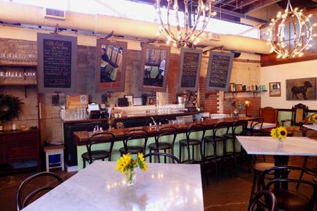 Les Marchands Wine Bar & Merchant, Santa Barbara, CA
