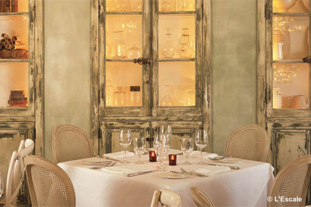 Celebrate Valentine's Day with the special menu at L'Escale in Greenwich, Connecticut