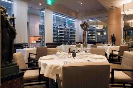 Dining Room at L'Espalier, Boston, MA