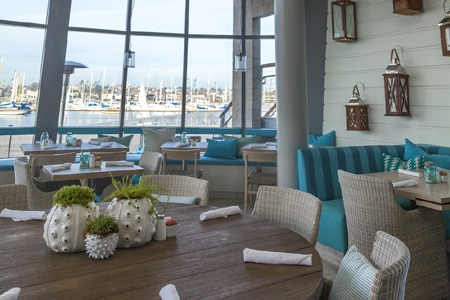 Dining Room at Lighthouse Bayview Cafe, Newport Beach, CA